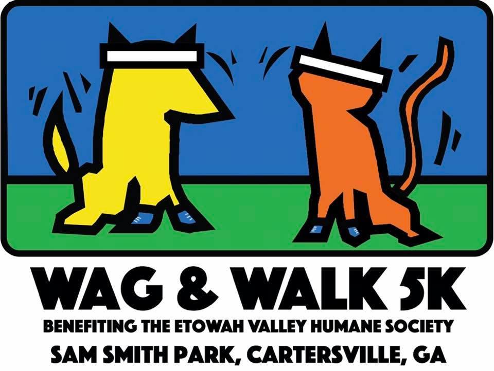 Wag & Walk 5K ** April 12, 2019