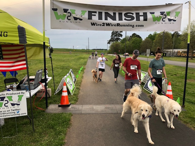 Congratulations to Wag & Walk Champion Andy Bishop (18:49) and Overall Female winner Sahara Moore, 15, (26:54), as well as to Master winners Mike Larue (26:20) and Lynn Kimel (32:33).