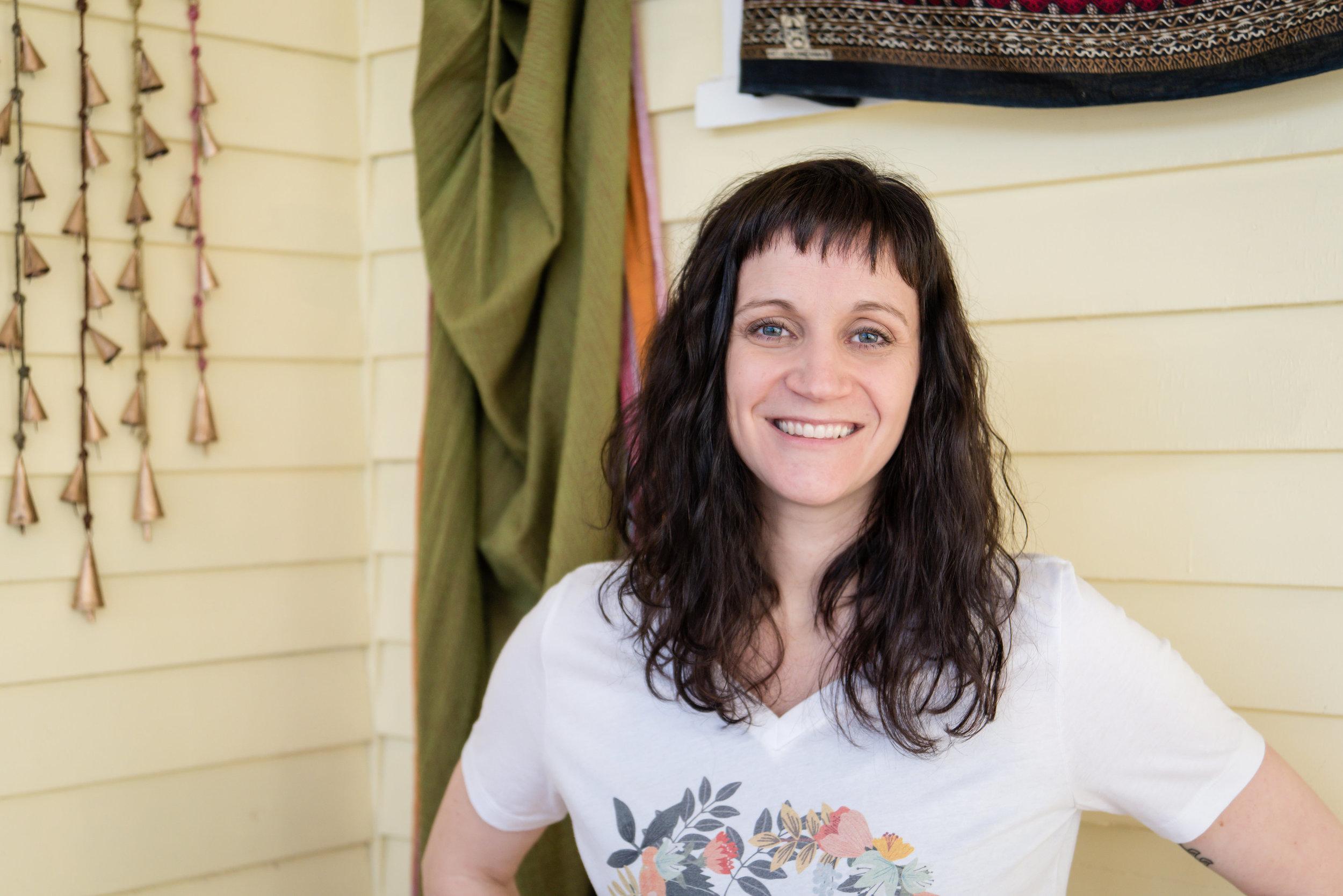Jenni Welsch, yoga teacher Hastings, NE