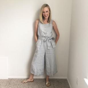 Not Perfect Linen Jumpsuit
