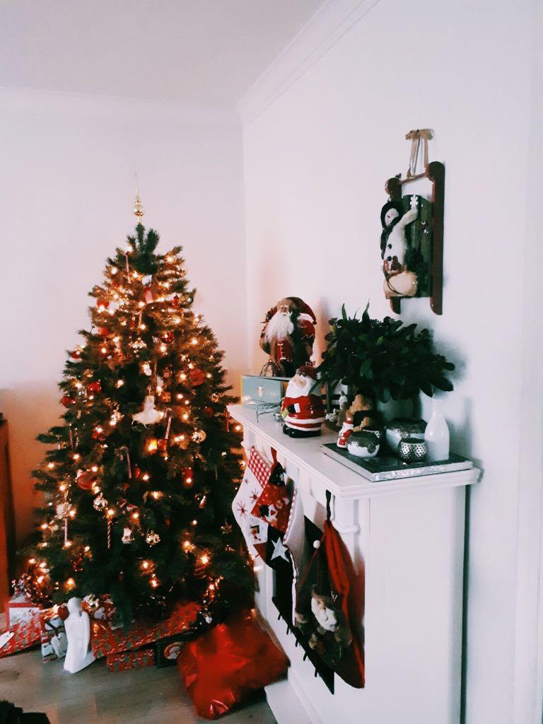 Het huis tijdens Kerst!