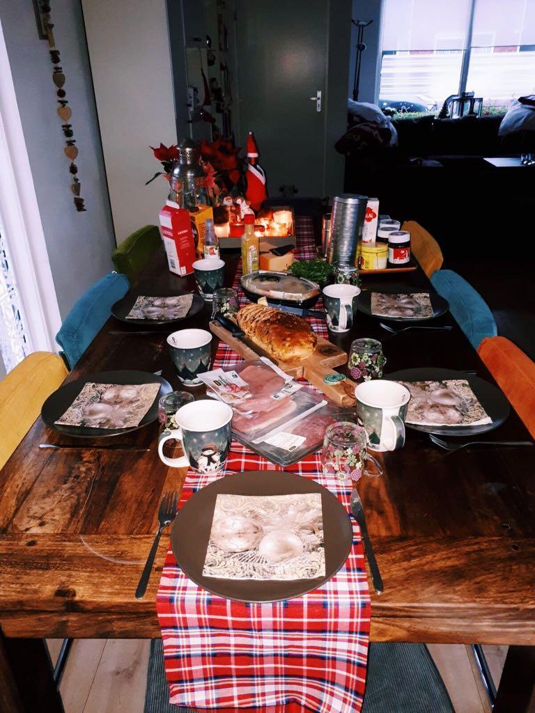 Eerstekerstdag ontbijt