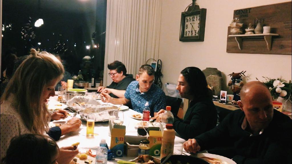 De familie op Tweedekerstdag!