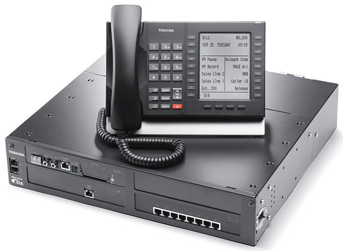 toshiba phone system