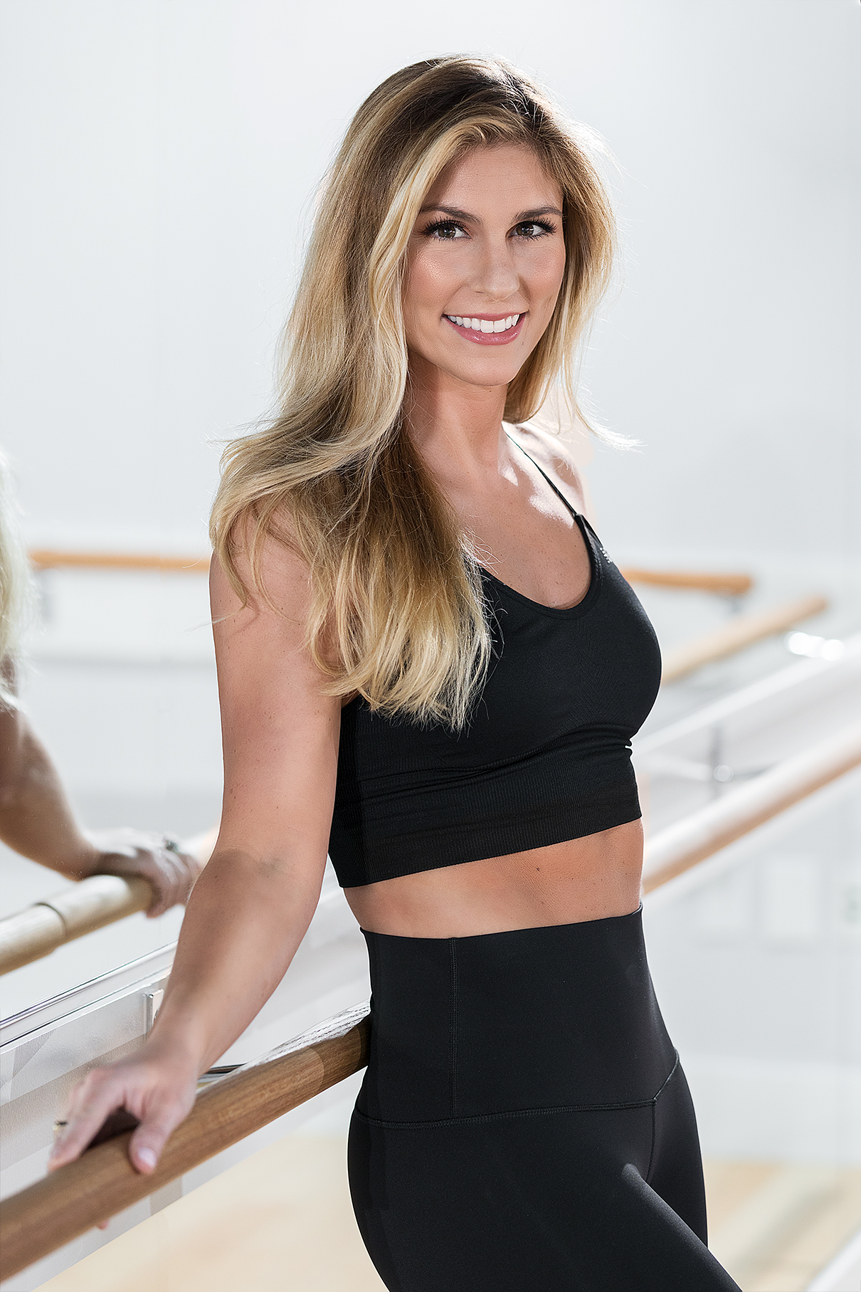 "Michelle Nigro Kenyon   Michelle is Town Barre's owner and lead instructor. She started Town Barre in October of 2015 renting out of various gyms and shortly thereafter quit her job in public relations to pursue a career teaching barre full time. In March of of 2017 she opened Town Barre's first studio.  Prior to working in PR, Michelle graduated from Emerson College with a degree in journalism and was a New England Patriots Cheerleader from 2010 to 2015. During her time on the team, she cheered from the sidelines at two Super Bowls and had the opportunity to represented the NFL at the Nike Festival of Sports in Shanghai.  Michelle started taking barre while trying to get in shape for Super Bowl XLIX. Soon enough, she started looking forward to working out, when prior, workouts were necessary but by no means enjoyable. Her newfound passion for barre led her to switch gears in her career path.  She's now working to provide her clients with the same benefits barre provided her. In a recent interview with ClassPass, Michelle said, ""I'm active every day, meet new people, help them reach their goals and provide them with an outlet to work on themselves."""