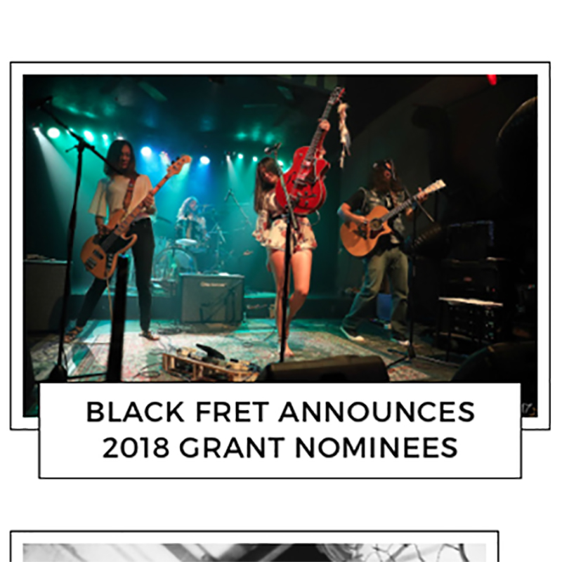 The Texas K.G.B. Announced as a    Black Fret 2018 Nominee!   March 22, 2018   Coverage by Track Rambler