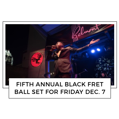 Texas K.G.B. Performing at 2018 Black Ball   December 7, 2018