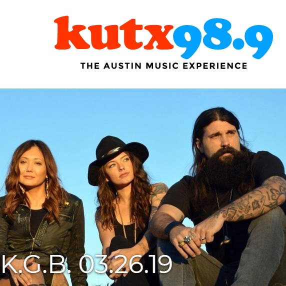 The Texas K.G.B. Live in Studio 1A- KUTX   March 26, 2019