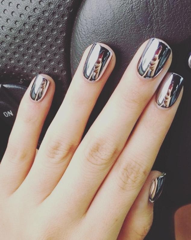 Chrome Nails 💕 #CosmoNailBar #DFWNails