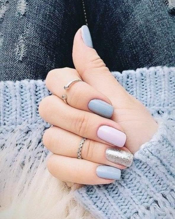 Chillin' on good vibes w/ beautiful nails! 💎 #CosmoNailBar #DFWNails #Motd
