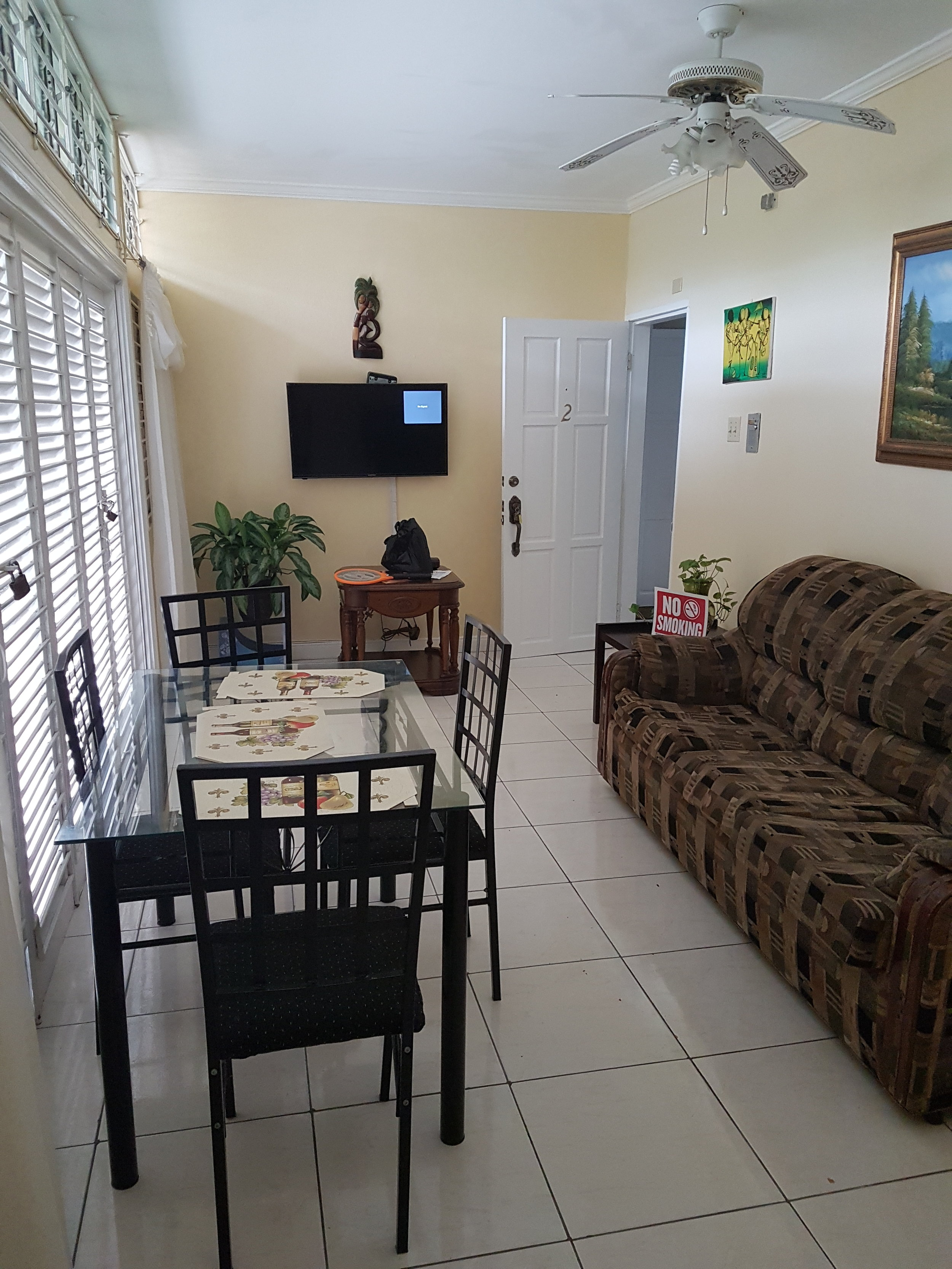This is a cute property on Air BnB that I stayed at in Jamaica. If you don't like the feel of a resort, these apartments make you feel as though you are right at home.
