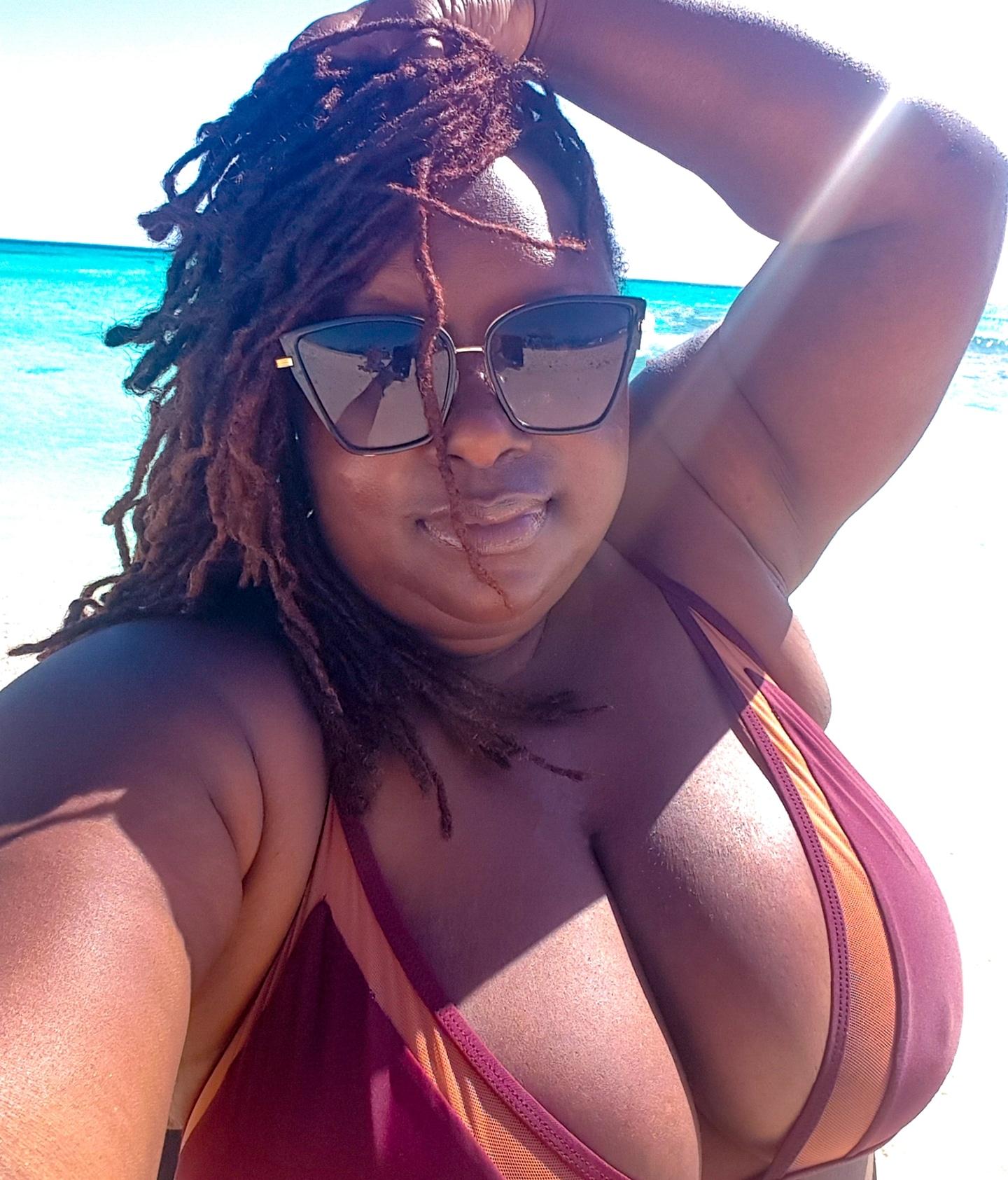 I had to do the bikini selfie.