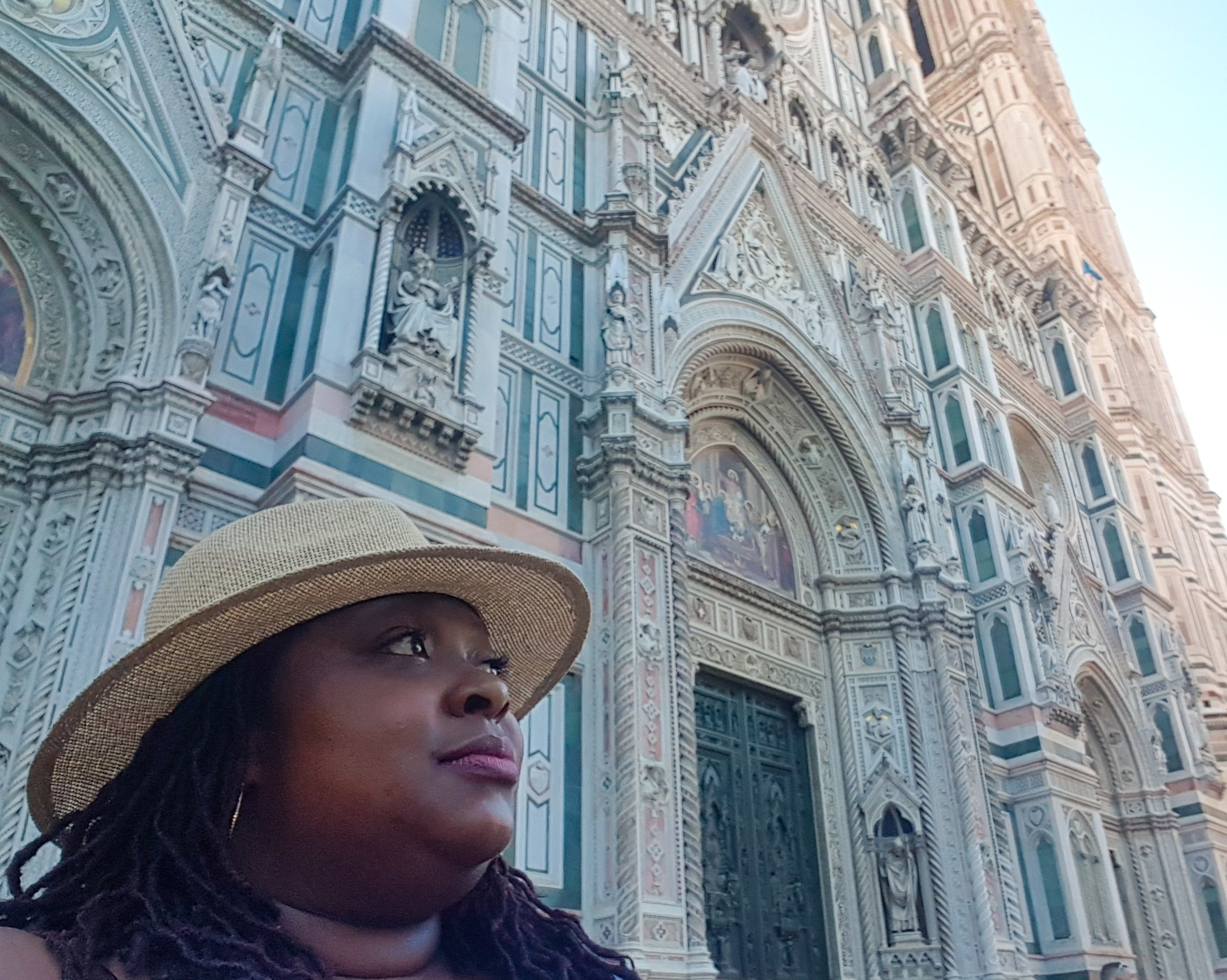 The cathedrals in Italy were so beautiful. This one is located in Florence.