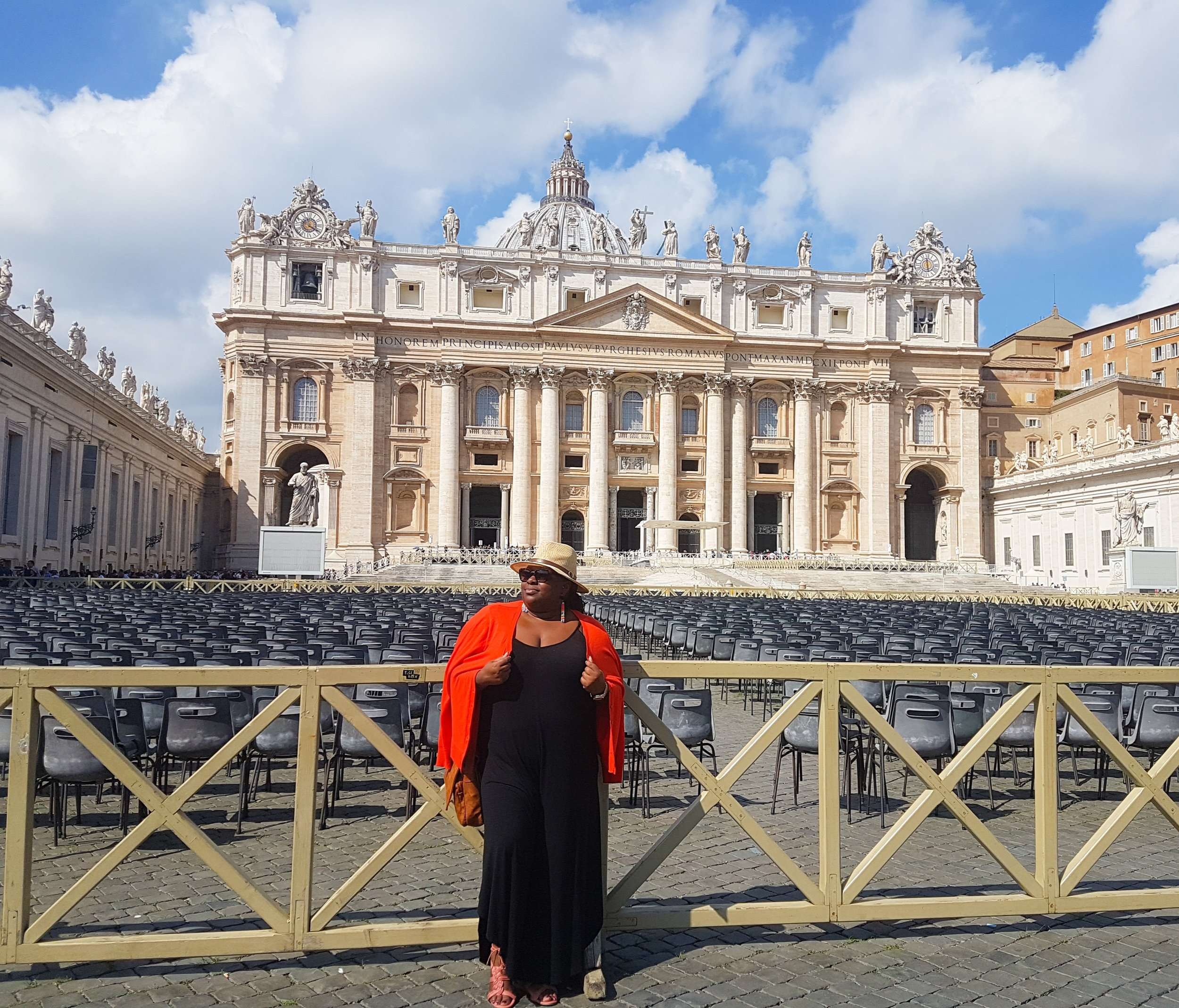 Pimpin at the Vatican. So where's the Pope at?