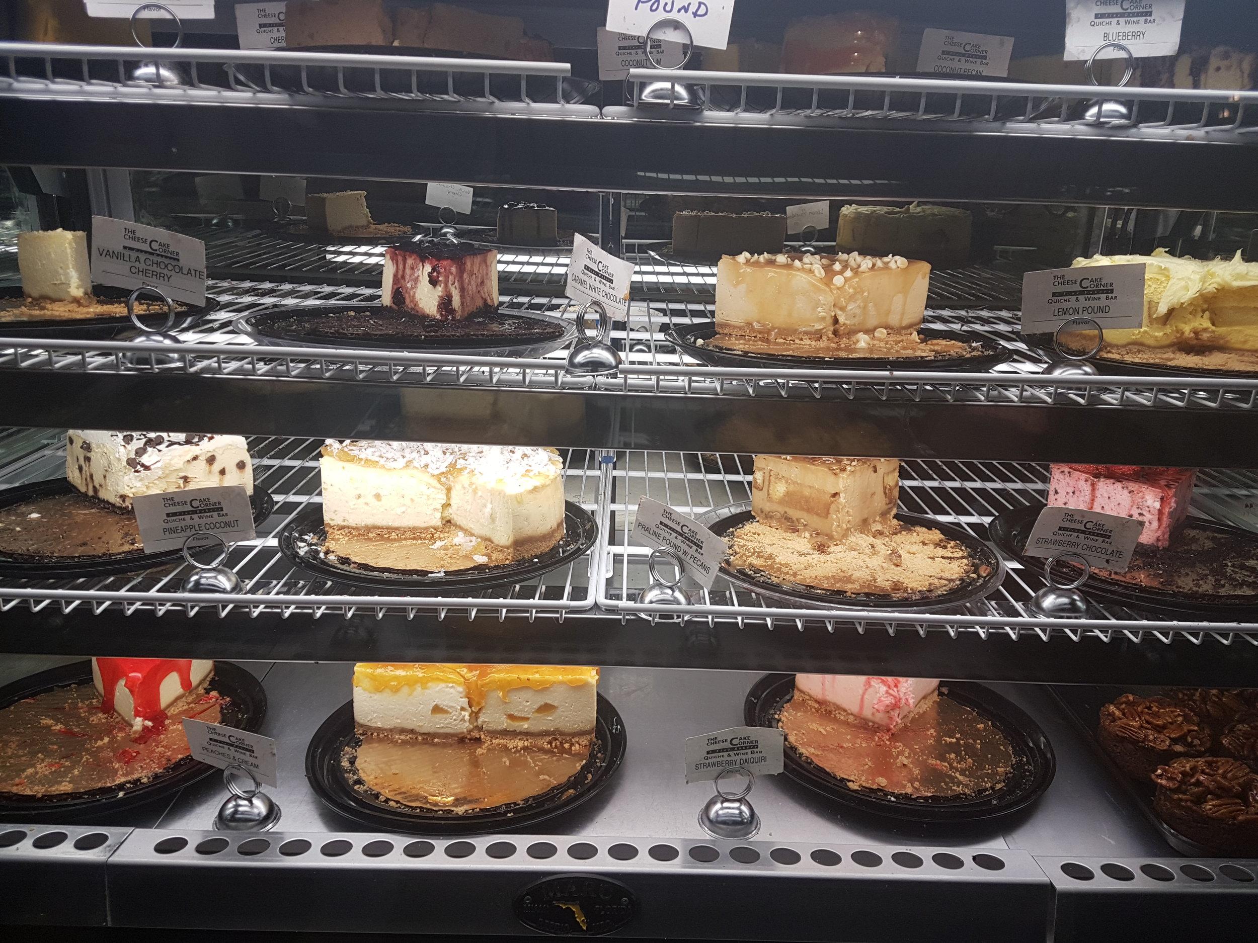 Cheesecake Corner cakes.jpg