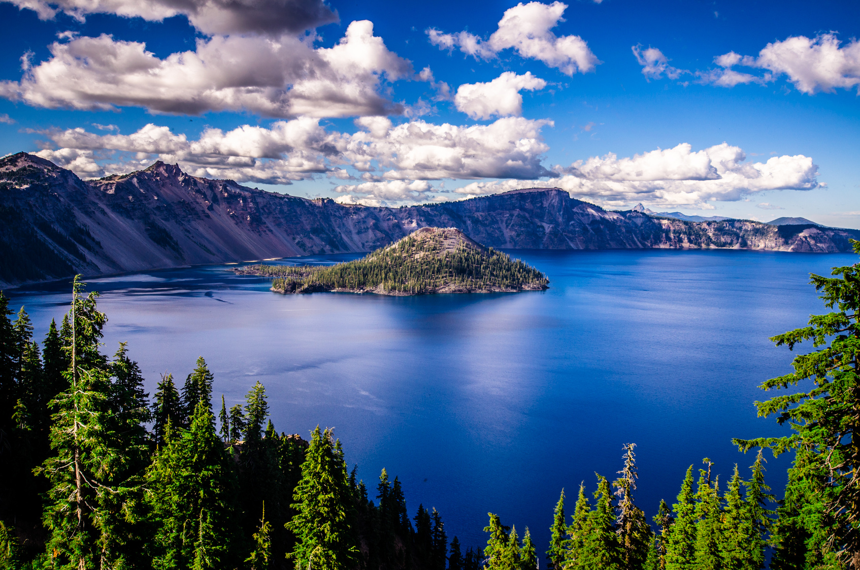 Crater Lake - View from the rim