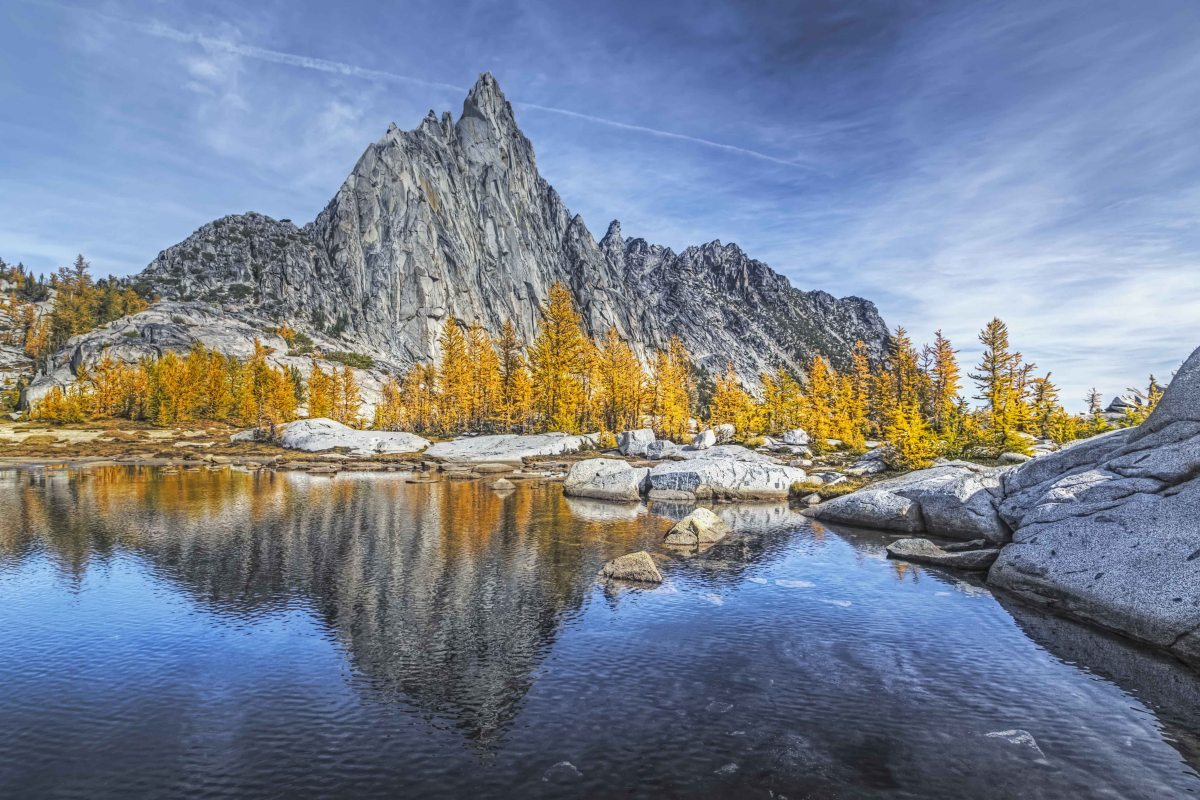 October in the Enchantments. Photo credit: Andy Porter