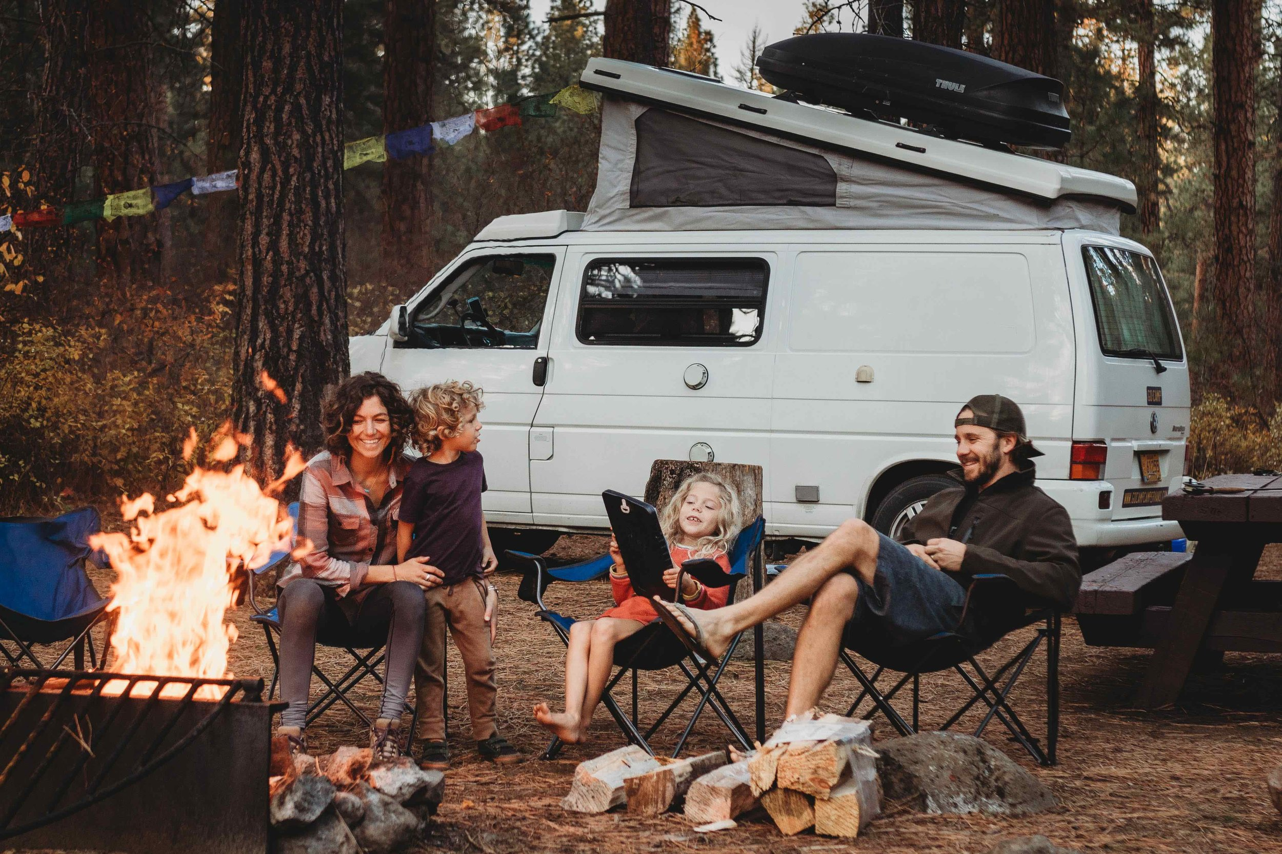 Making camping easy ... for families.