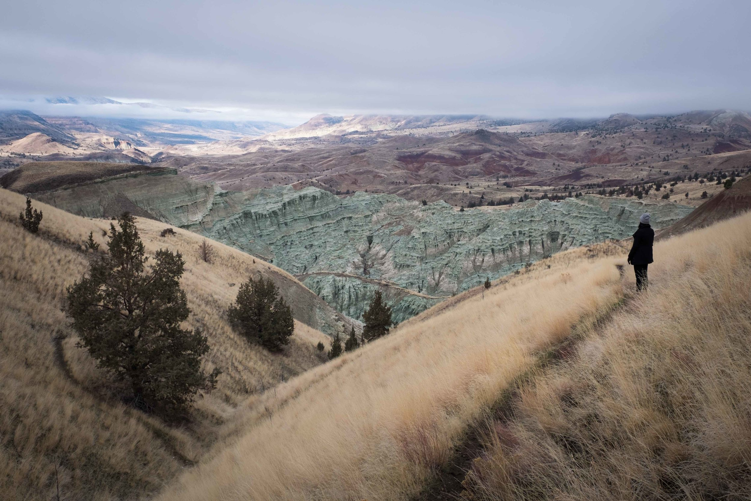 Hiking in the Painted Hills of Eastern Oregon.jpg