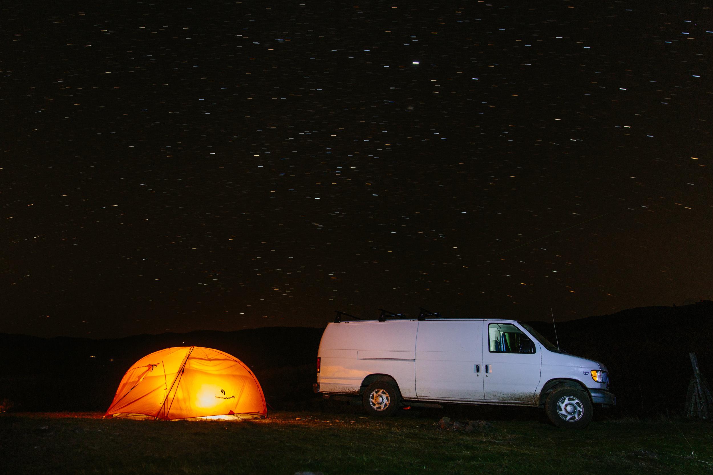 Star light, star bright, where do you want to sleep tonight?