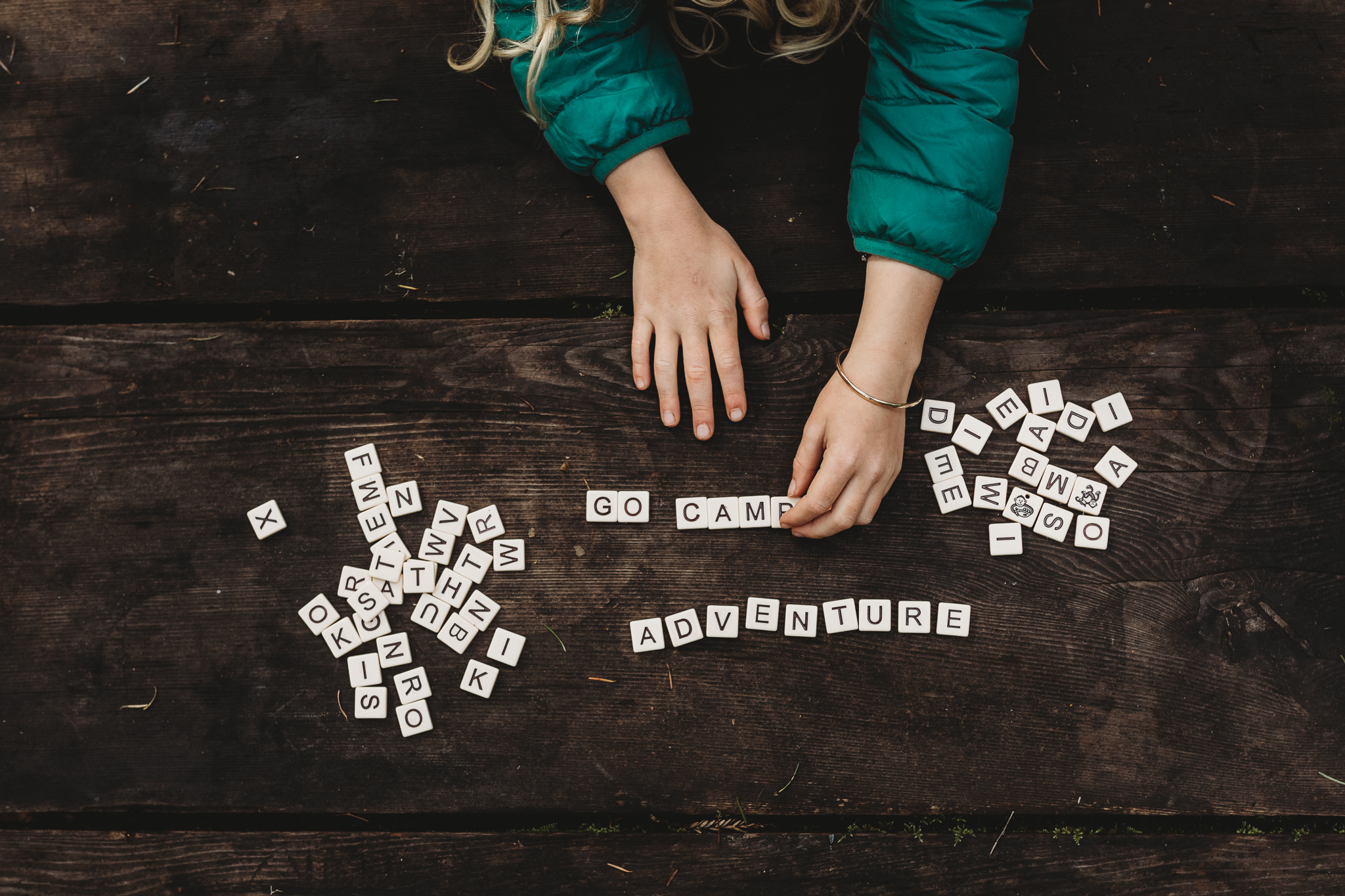 Take bananagrams on your next GoCamp Adventure. Photo by Natalie Gildersleeve.
