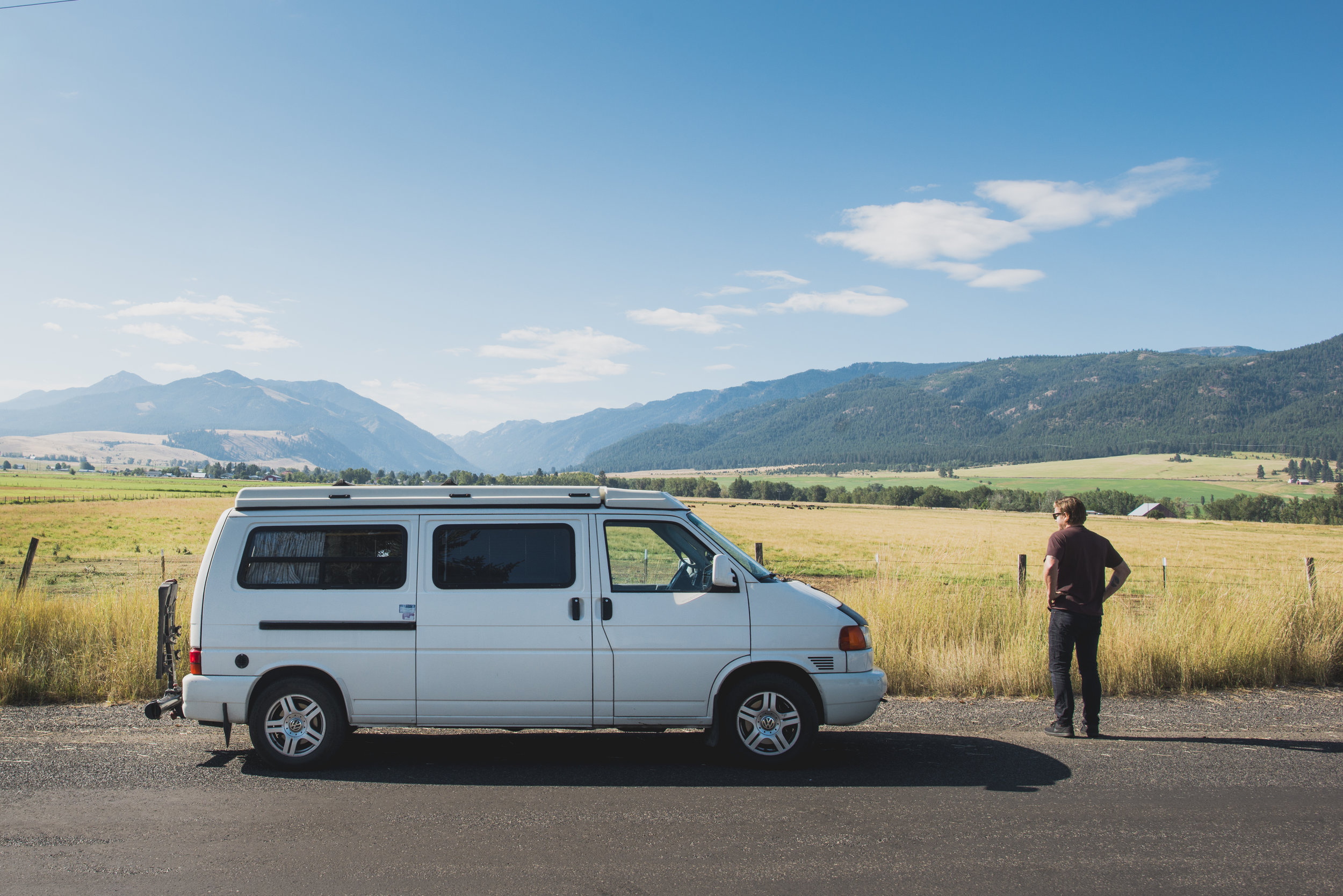 """""""Grand Ronde"""" in its natural element: On the road to adventure! Photos courtesy of  Aaron Wessling ."""