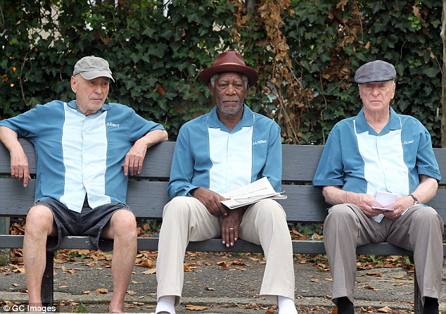 Going In Style , which opens today, has a Rotten Tomatoes rating of 47%.