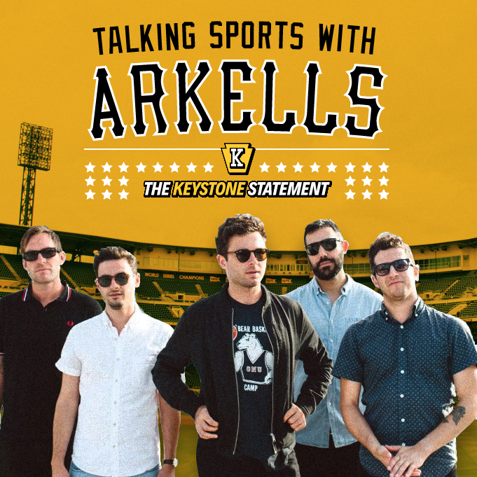 """Click to hear """"Talking Sports With Arkells"""" - a Keystone Statement exclusive."""