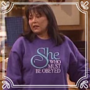 Pick #13: Roseanne Conner - Roseanne- Sitcom Female (Dominic)