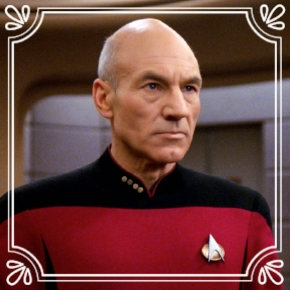Pick #24: Jean-Luc Picard - Star Trek: The Next Generation- Drama Character (Marcus)