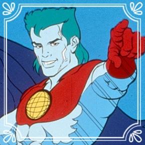 Pick #62: Captain Planet - Captain Planet -Cartoon Character (Dominic)