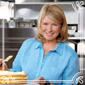 Pick #69: Martha Stewart - Martha Stewart Living -T.V. Personality (Dominic)