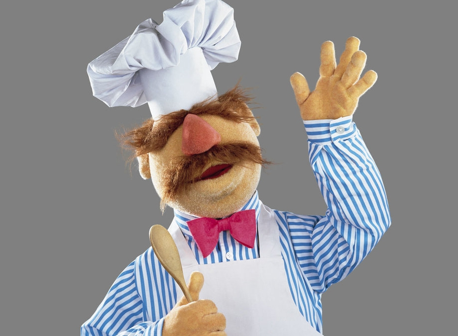 Some may call him an Italian stereotype, but I think the Swedish Chef is one of the best Muppets.