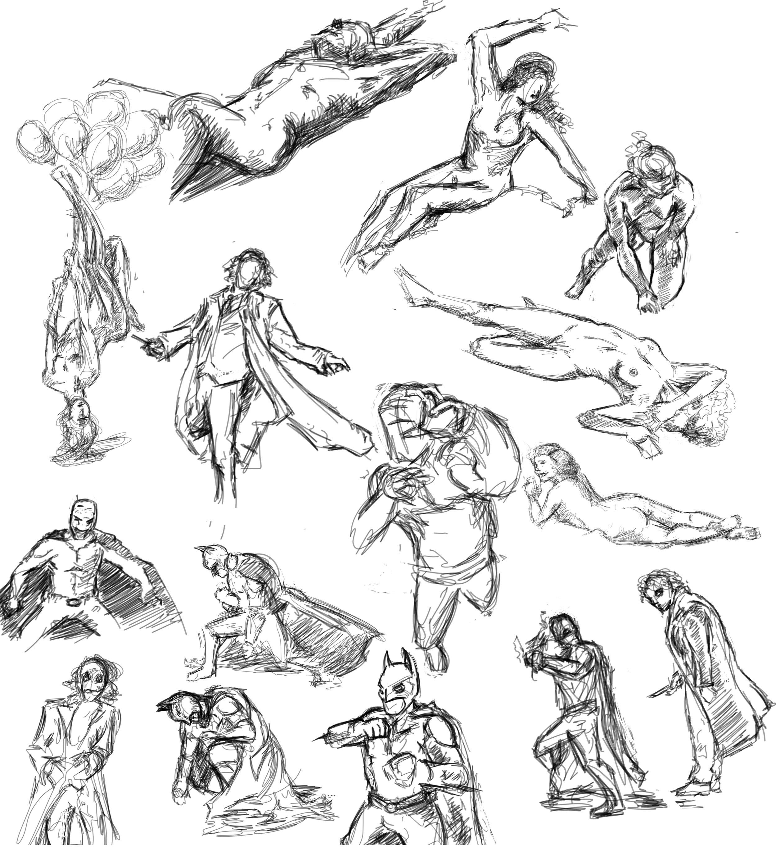 Guesture Drawings