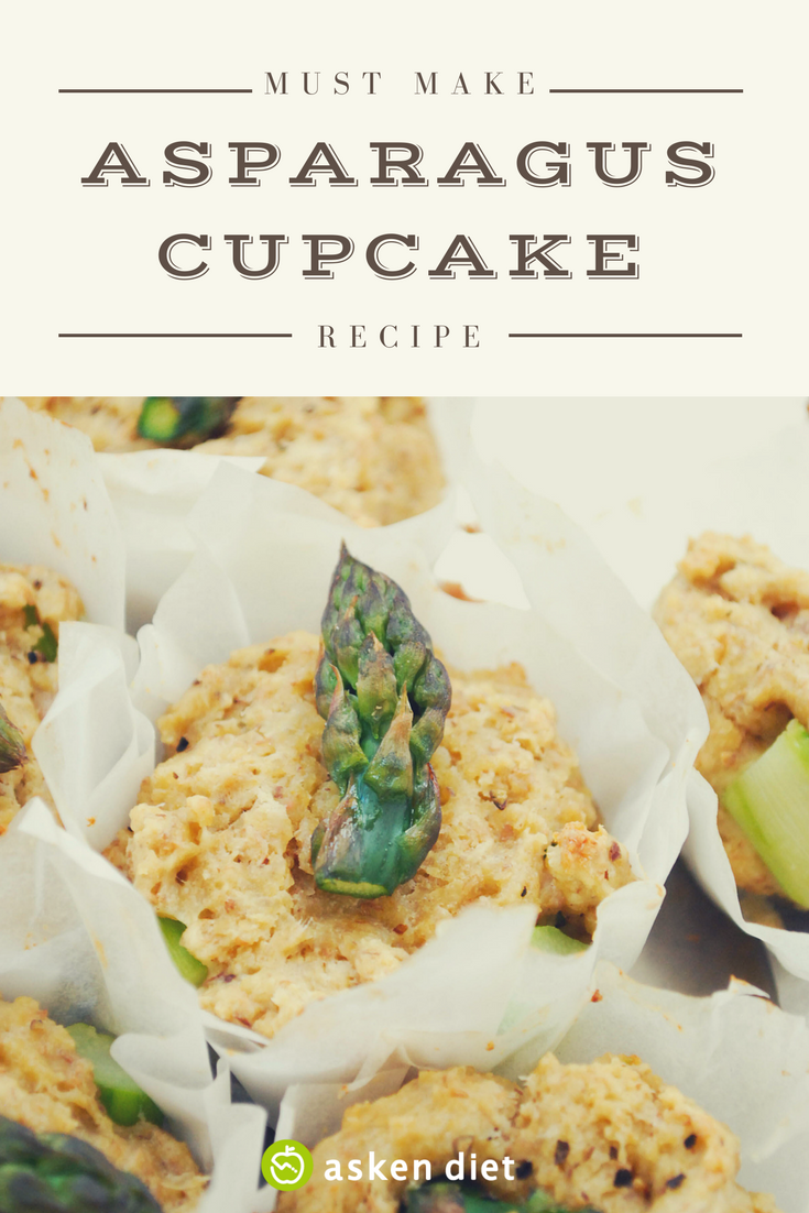 Asparagus Cupcake