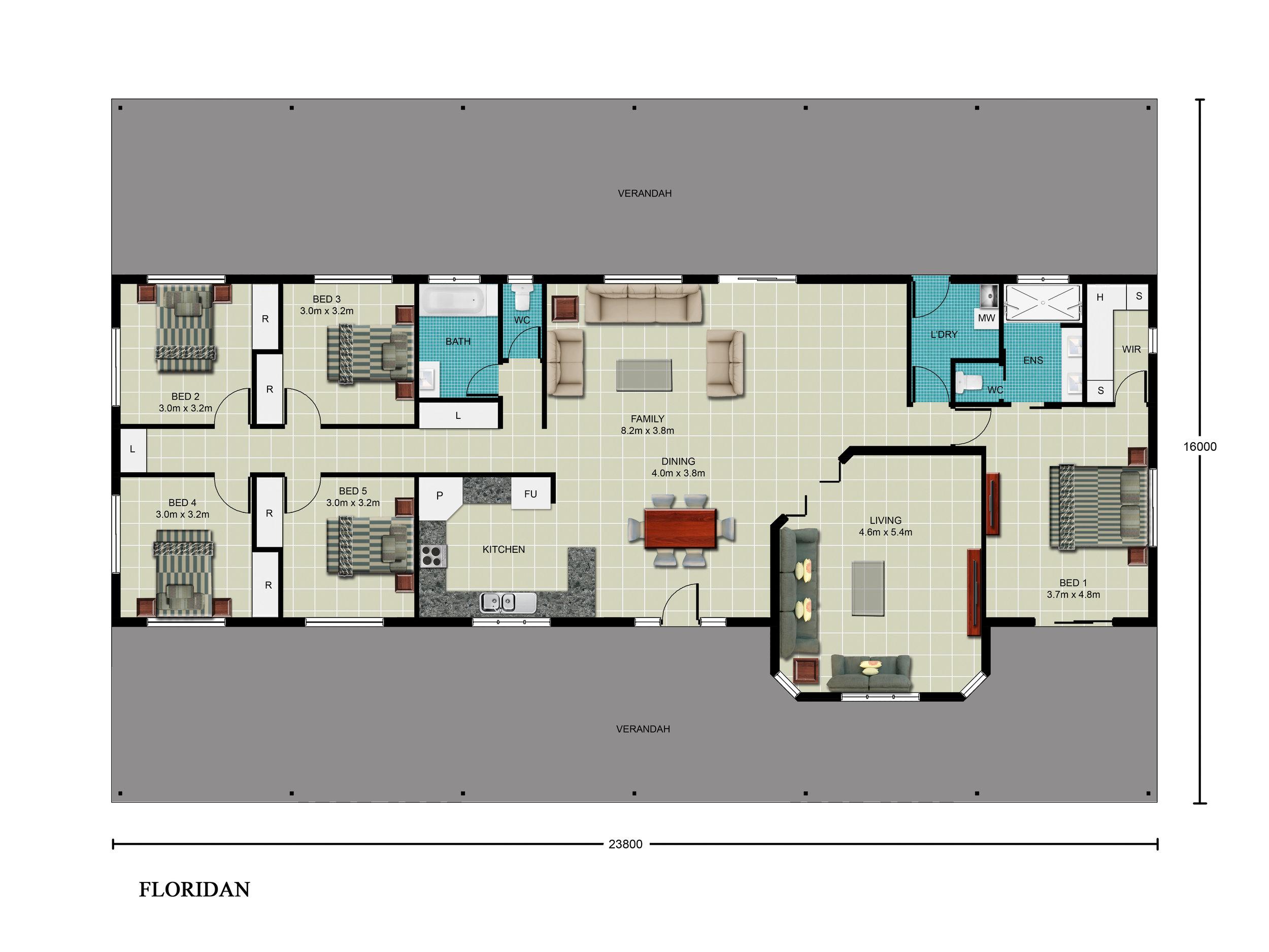 Columbian Floor Plan