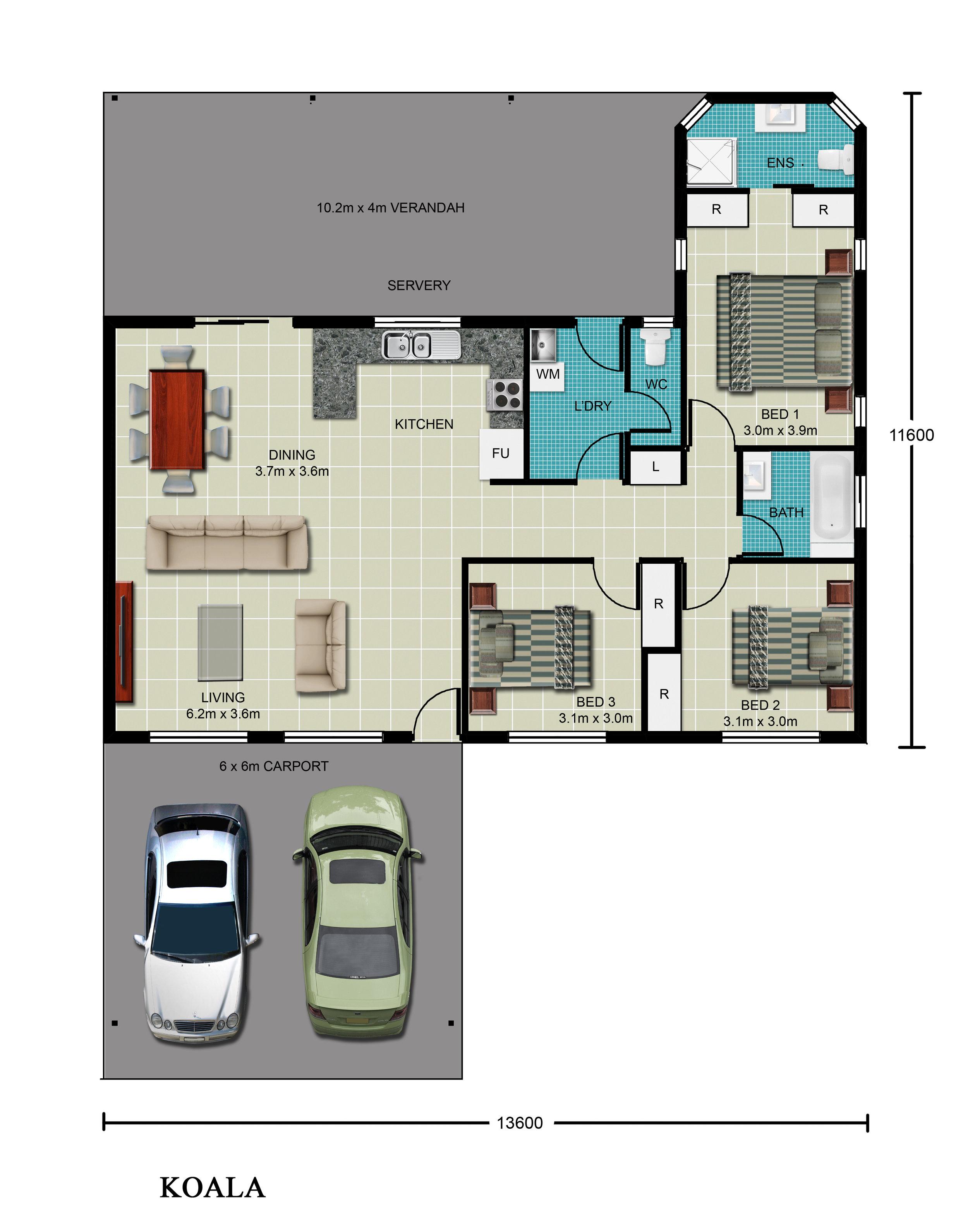 Koala Floor Plan