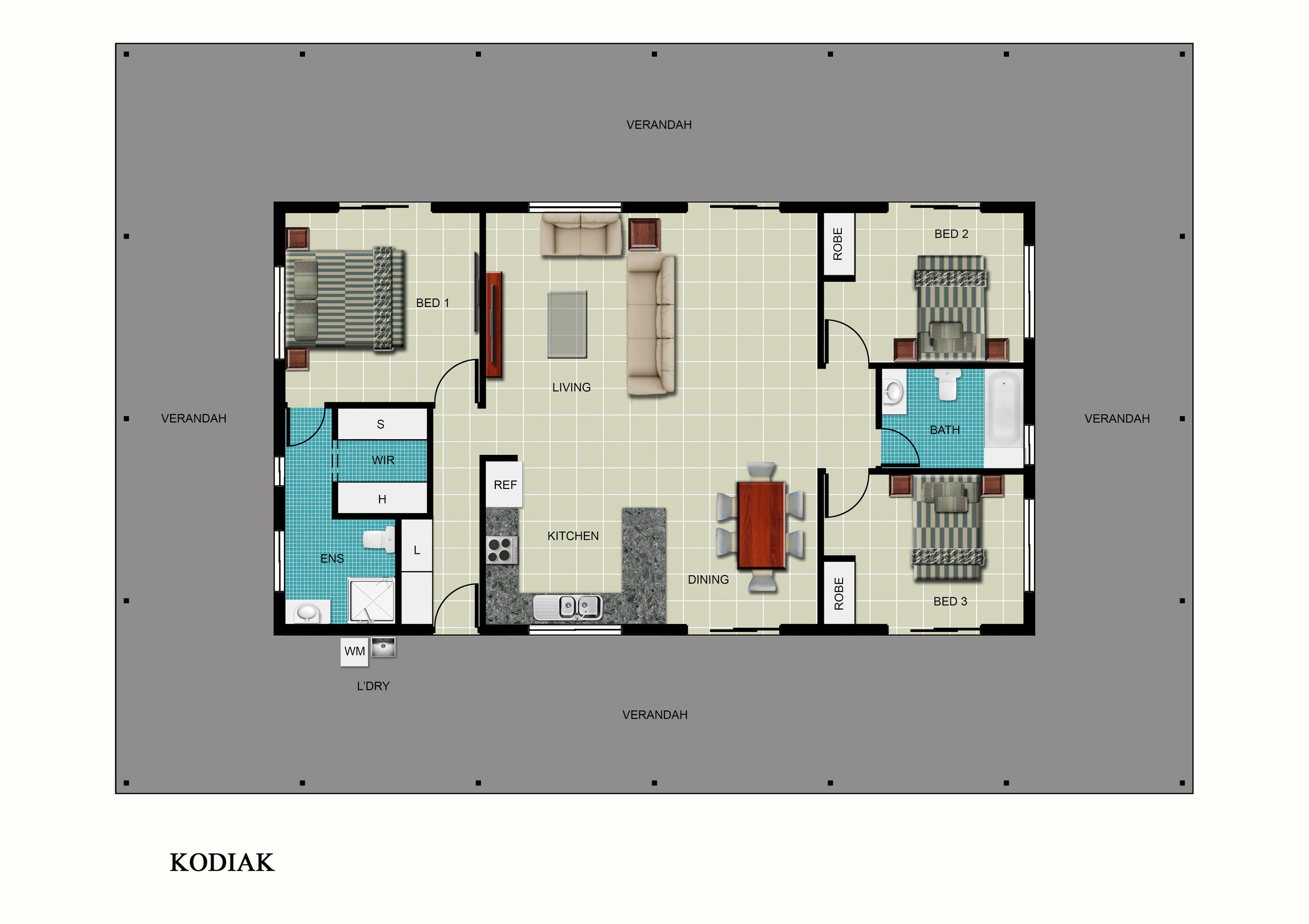 Kodiak Floor Plan
