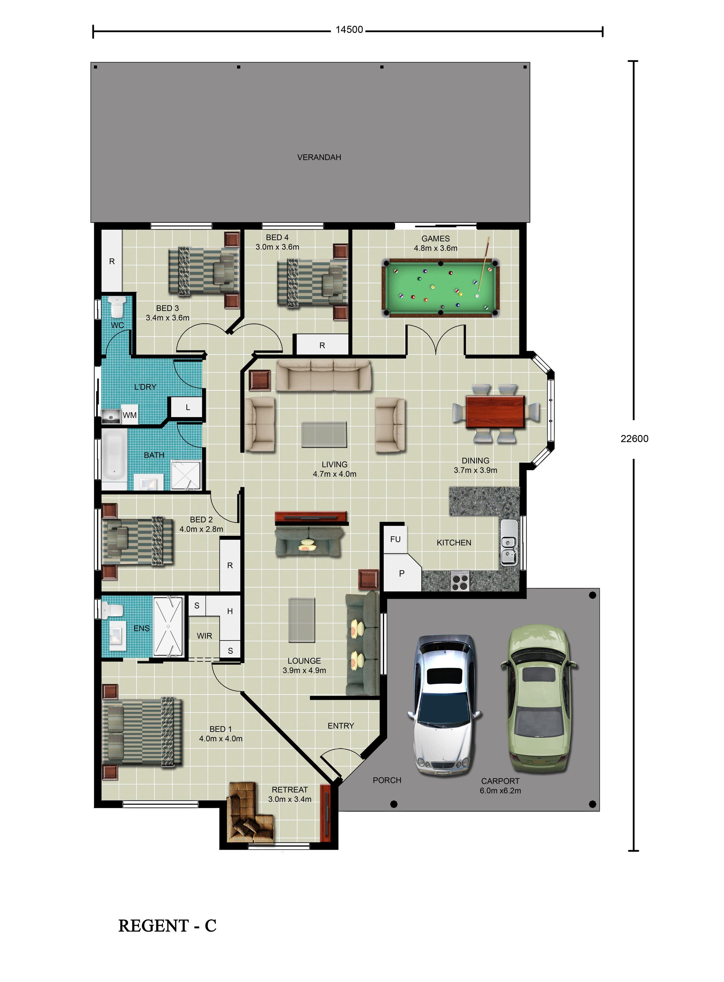 Regent-C Floor Plan