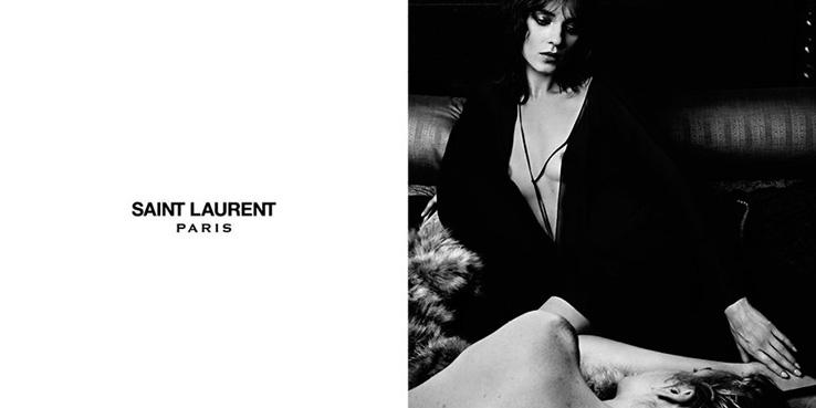 Hedi Slimane para Saint Laurent