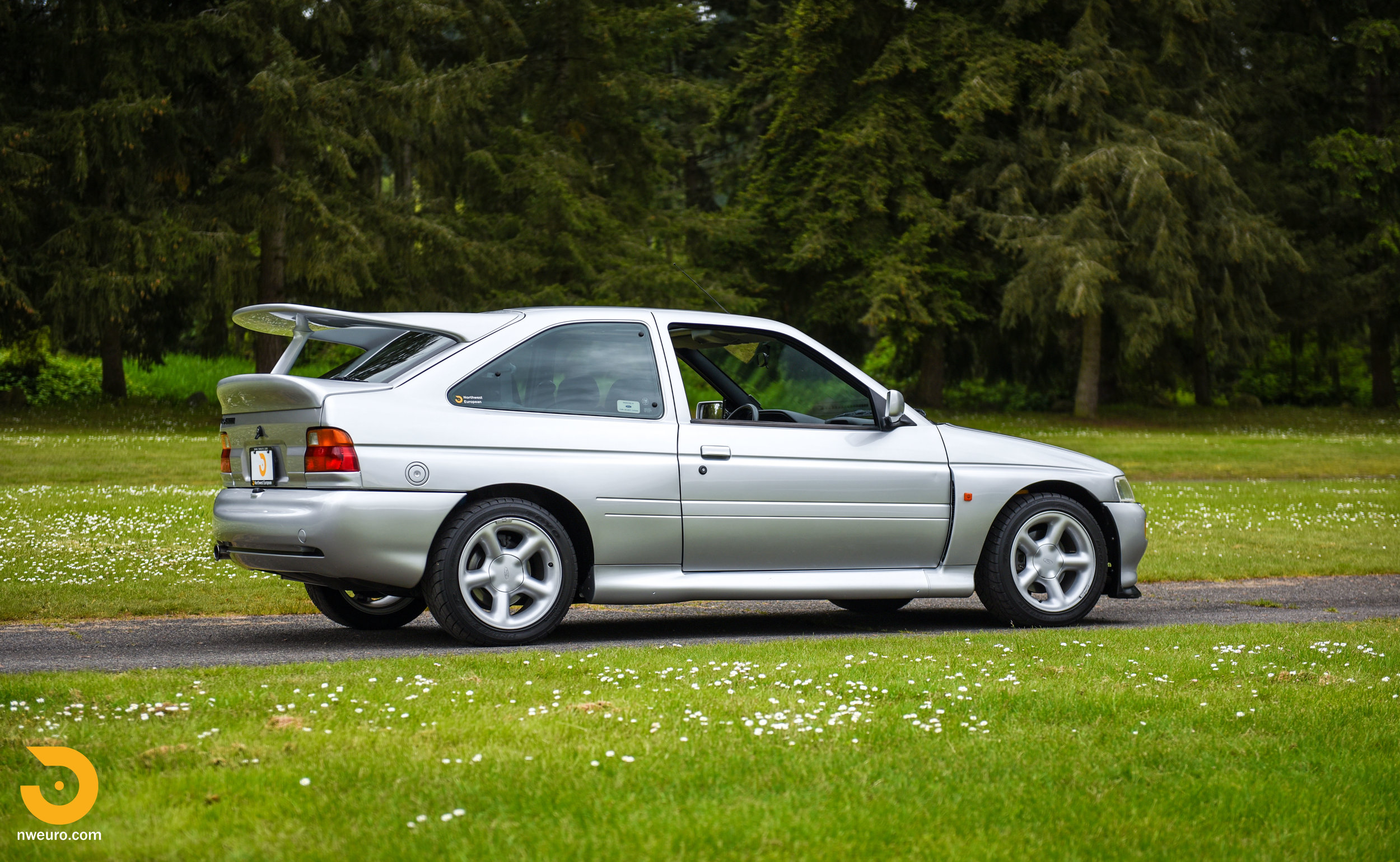 1995 Ford Escort Cosworth RS Silver-2.jpg
