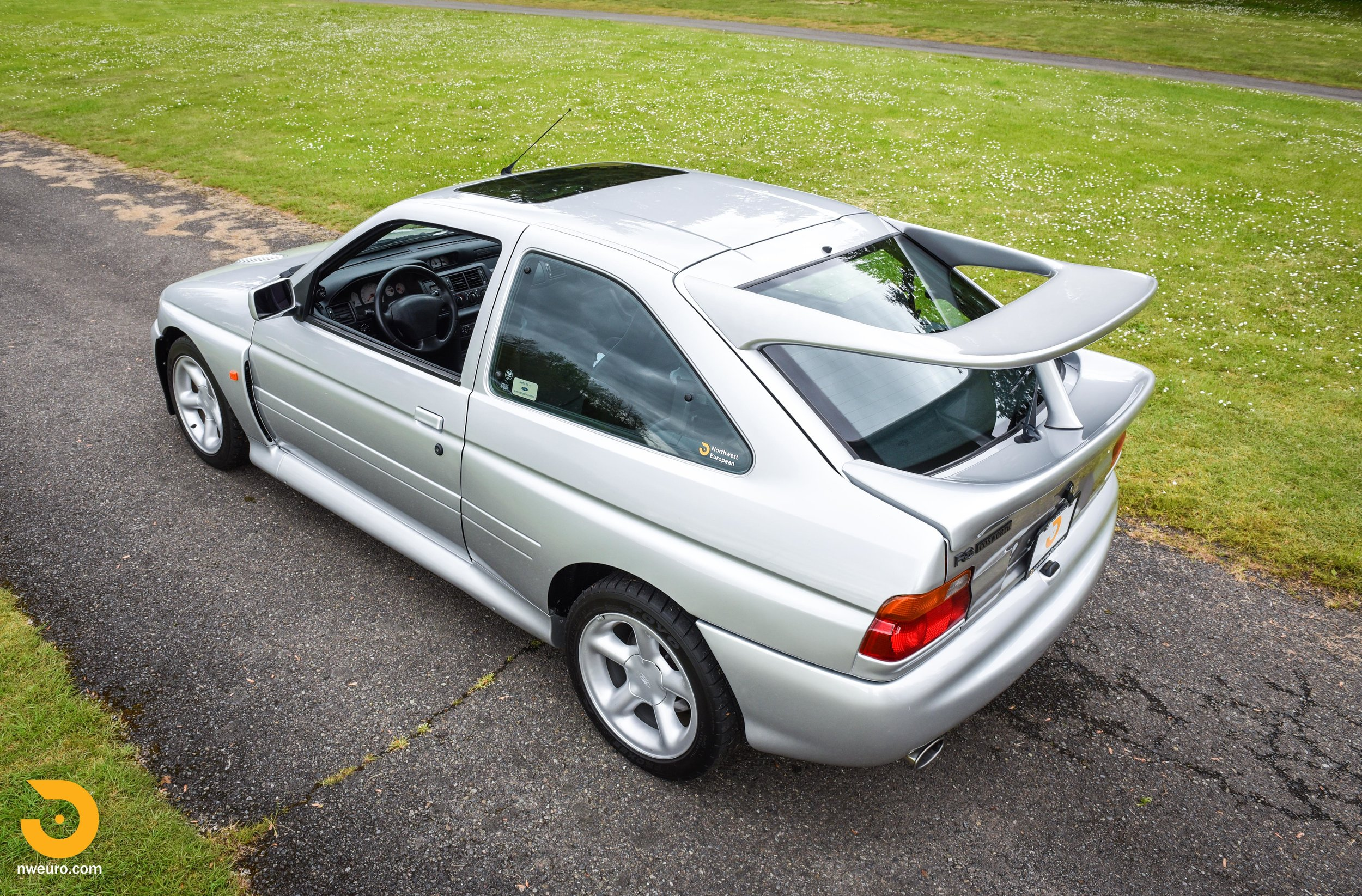 1995 Ford Escort Cosworth RS Silver-63.jpg