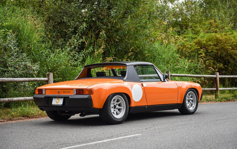 1973 Porsche 914 6 Gt Tribute Northwest European