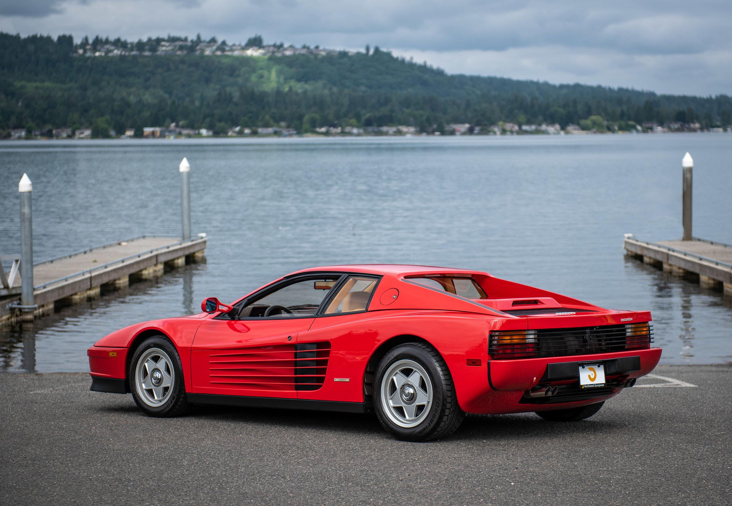 1988 Ferrari Testarossa Northwest European