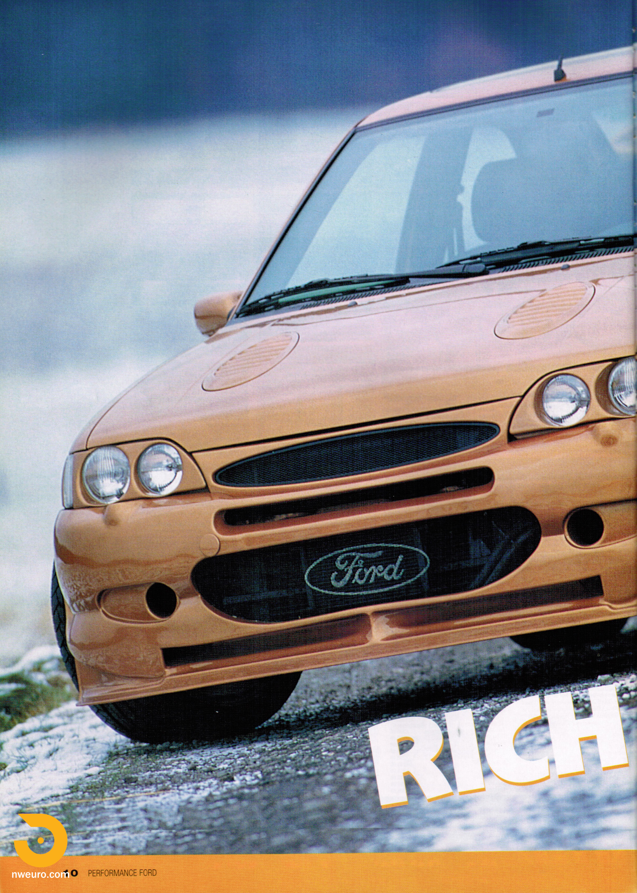 Performance Ford Magazine - Gold Cosworth-2.jpg