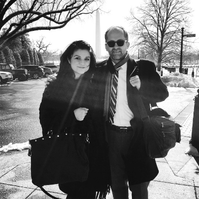 Neda and Micheal Rooks attend the first ACT/ART board meeting in partnership with the president Obama's Whitehouse administration.