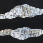 Untitled #27 100 x 75 cm acrylic on linen $1,900