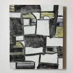 Untitled #34 48 x 40 cm acrylic on board $990