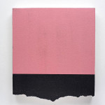 Séduction horizontale, 2013 Acrylic on prepared EPS panel 57x50x4cm $1,800