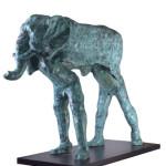 Untitled #2, 2012, bronze, 112 x 36 x 94 cm, $15,000